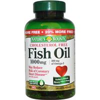 Nature 39 s bounty cholesterol free fish oil prices online for Is fish oil good for cholesterol