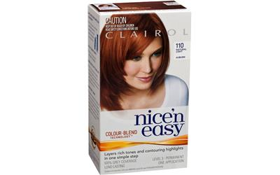 clairol nice and easy 110 natural light auburn online buy. Black Bedroom Furniture Sets. Home Design Ideas