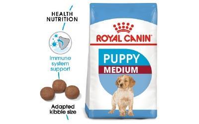 royal canin medium junior puppy food 15kg online buy for. Black Bedroom Furniture Sets. Home Design Ideas