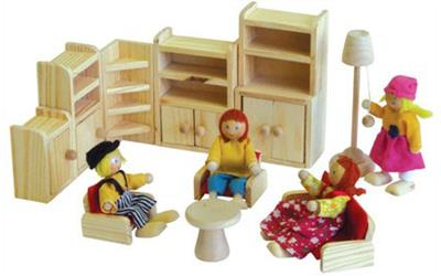 Wooden Doll House Furniture Lounge Room Online Buy For In Australia