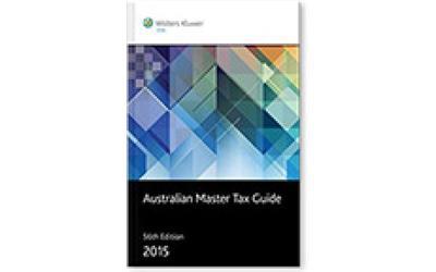 buy australian master tax guide 2015 online for 157. Black Bedroom Furniture Sets. Home Design Ideas