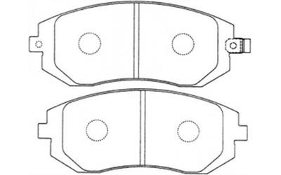 ZM 1215253271_DB1491PM_DISC_PAD_SET_SUBARU_FORESTER_IMPREZA_OUTBACK