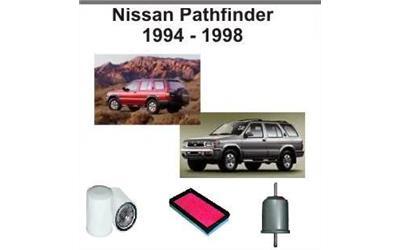 Kit4025 filter kit nissan pathfinder r50 petrol v6 3 3l for 2002 nissan pathfinder motor oil type